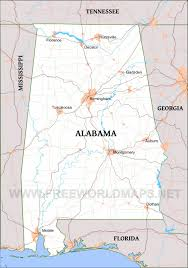 Florida Alabama Map by Alabama Maps