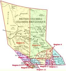 map of bc columbia regional map curl bc