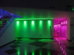 led lights decoration ideas atrracive colorful led lights decors set on ceiling as well white