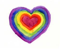 art projects for kids color wheel heart painting projects