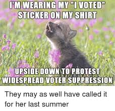 I Voted Meme - 25 best memes about i voted sticker meme i voted sticker memes