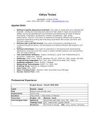 Quality Control Job Description Resume by Quality Control Engineer Resume Sample Resume For Your Job