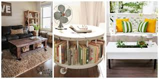 livingroom tables 10 diy coffee tables how to a coffee table