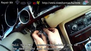 audi a8 2003 2009 mmi screen repair manual youtube
