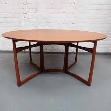 danish teak drop leaf dining table extending dining table