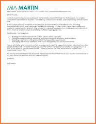 personal assistant cover letter no experience example of cover letter for administrative assistant image