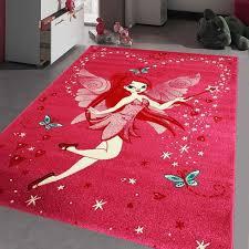 tapis chambre fille tapis fee tapis enfants 60 x 110 cm achat vente tapis