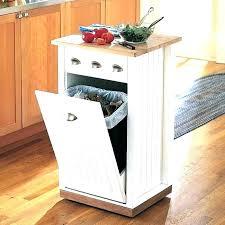 trash can cabinet insert decorative trash bins decorative kitchen trash cans best farmhouse