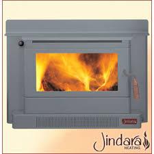 nectre inbuilt wood heater fireplace