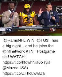 Rams Memes - lar 2 1 sf 0 3 rams def 49ers 41 39 rams todd gurley career high