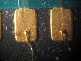 alum bond wire bonding