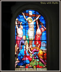 octagon stained glass window an old church and many memories u2026 st james church delhi u2013 a