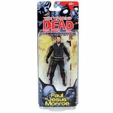motocross action figures the walking dead comic series 4 paul