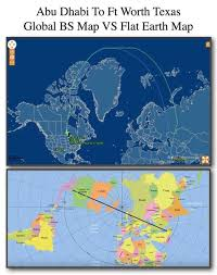 globe earth maps commercial air flights on a flat earth work perfectly