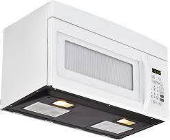 Ventless Microwave Haier Hmv1640ahw 1 6 Cu Ft Over The Range Microwave Oven With