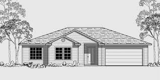 one story house one story house plans 50 wide house plans 9921