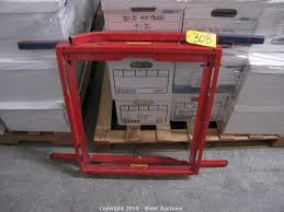 Folding Table Saw Stand West Auctions Auction Bankruptcy Auction Of L U0026s Hallmark