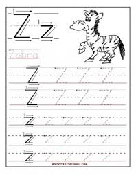 printable letter z tracing worksheets for preschool printable