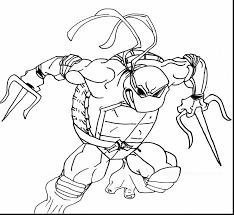 fabulous ninja turtles michelangelo coloring pages ninja