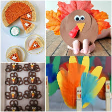 easy thanksgiving crafts and recipes for