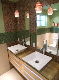 Bathroom Vanity Backsplash by Gallery Safara Aventurine Glass Mosaic Tile Bathroom Vanity