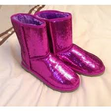 ugg boots australia pink pink purple sequin sparkle ugg boots size 5 5 brand