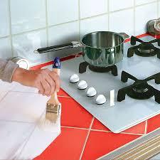 catelles cuisine repeindre un carrelage de cuisine