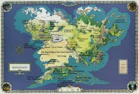 a map of middle earth map middle earth major tourist attractions maps
