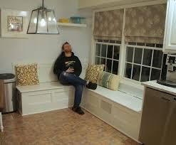mesmerizing corner kitchen nook with storage best kitchen