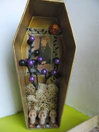 halloween coffins decorations 31 days of halloween day 24 shadow box coffins