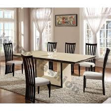 decoration of dining table mitventures 20 best collection of extending marble dining tables dining room