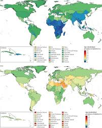 Micronesia Map Worldwide Trends In Diabetes Since 1980 A Pooled Analysis Of 751