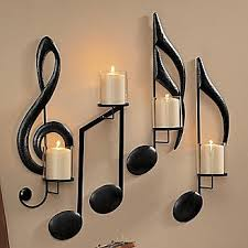 Treble Clef Music Note Sconces SO INTO MUSIC Pinterest - Home decorations and accessories