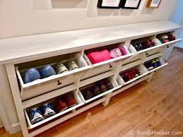the bespoke ikea hemnes shoe cabinet