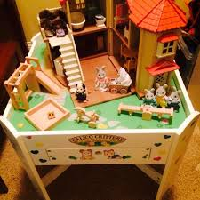 Calico Critters Play Table by Best Calico Critters Table And House Complete With Furnishings