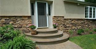 Front Steps Design Ideas Concrete Front Steps Design Ideas Steps And Stairs Liquid Stone