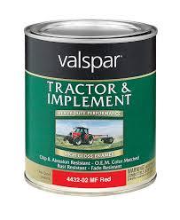 amazon com valspar 4432 02 massey ferguson red tractor and