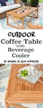 Creative Ideas For Outdoor Coffee Table Best 25 Outdoor Coffee Tables Ideas On Pinterest Industrial