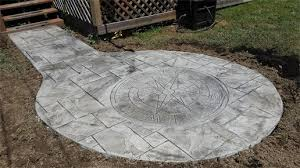 Stamped Concrete Patio Maintenance Robert C Clark Construction Stamped Concrete Baltimore Md