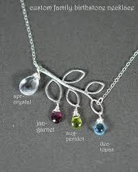 Children S Birthstone Necklace Birthstones Necklace Mother Necklace Mom Necklace Children U0027s
