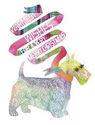 scottie watercolor card by masha d yans