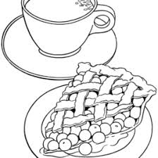 free printable food coloring pages kids coloring pages food