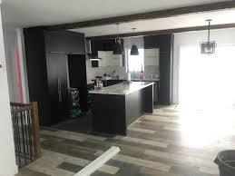 cuisine plancher bois cuisine plancher bois grange 2 construction d st onge