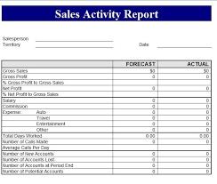 revenue report template sales revenue report template free