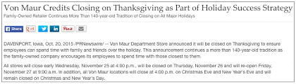 stores closed on thanksgiving and black friday 2015
