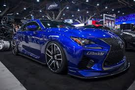 custom lexus rc 2015 lexus rc f built by beyond marketing sema spotlight