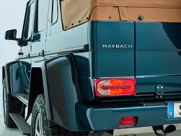 first look 2017 mercedes maybach g650 landaulet automobile magazine