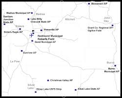 map of oregon showing madras central oregon airports tripcheck oregon traveler information