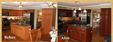 Refinishing Wood Cabinets Kitchen Bar Cabinet - Kitchen cabinet restoration