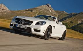 2012 mercedes benz slk55 amg first drive u2013 review u2013 car and driver